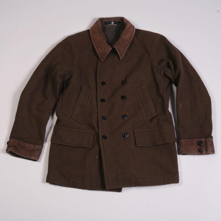 vintage green tag stone island jacket coat